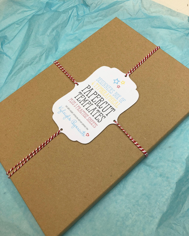 Anfänger Papierschnitt Kit Bastelset Scherenschnitt Kit