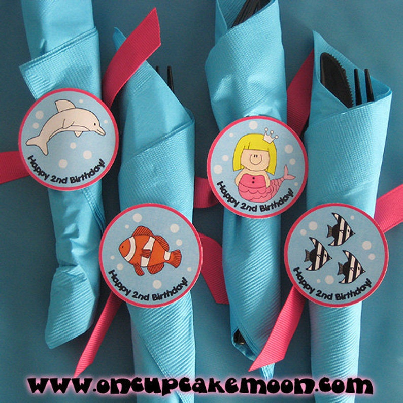 fully custom napkin rings ties  pick and choose from my image 0