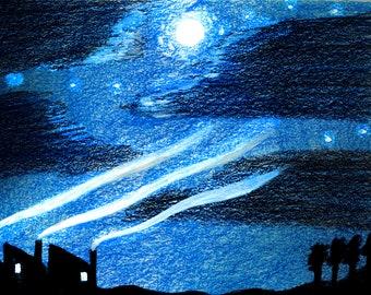 Four Skies A5 prints