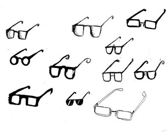 Spectacles Print