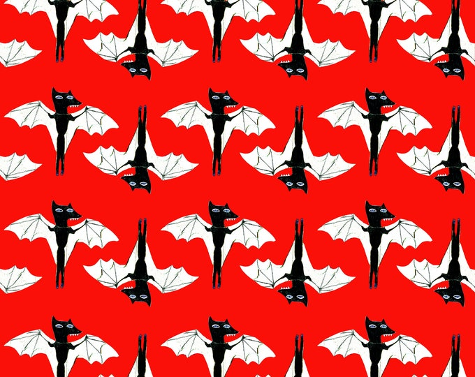 3 sheets of Bat wrapping paper