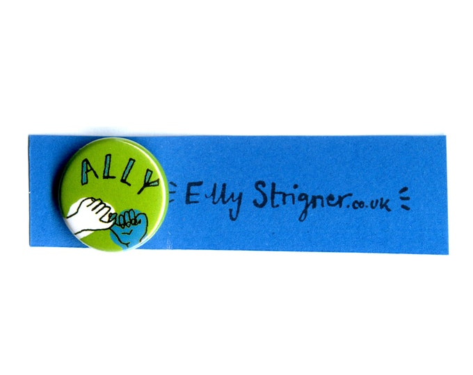 Ally badges : 50% of sales go to Mermaids charity