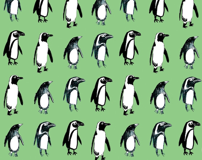 3 sheets of Penguin Christmas Wrapping Paper