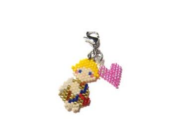 Valentines Cupid Brick Stitch Bead Pattern | DIGITAL DOWNLOAD