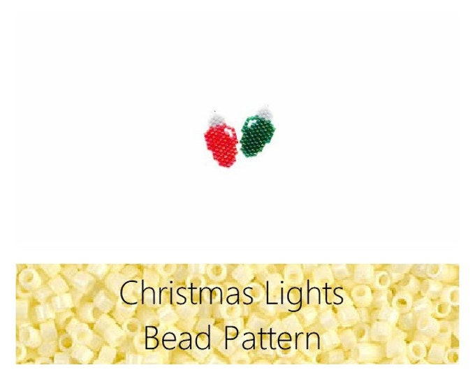 Christmas Sweater and Beanie Cap Brick Stitch PATTERN | DIGITAL DOWNLOAD