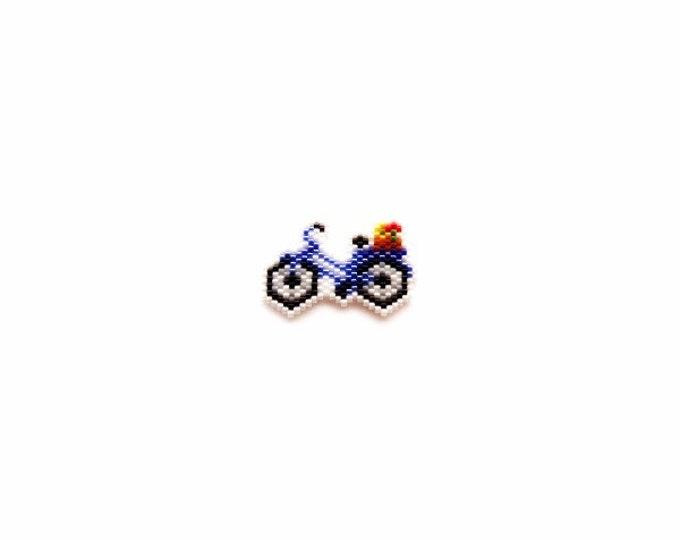 Brick Stitch Bicycle Bead PATTERN | Printable Digital Download