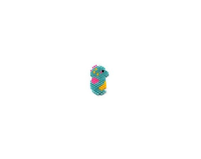 Baby Seahorse Brick Stith Bead PATTERN   DIGITAL DOWNLOAD