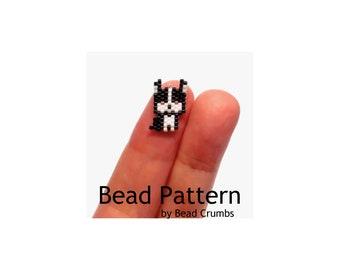 Mini Boston Terrier Bead Pattern