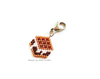 Smore Charm, Lobster Claw Clasp, Cute Food Ornament - Notebook Planner, Bag, Jewelry Component