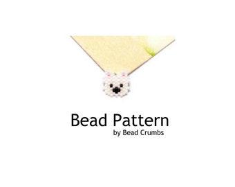Mini West Higland Terrier Bead Pattern