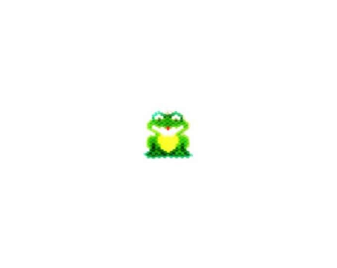 Good Luck Frog Brick Stitch Bead PATTERN | DIGITAL DOWNLOAD