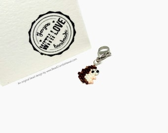 Hedgehog Charm - Animal Lover Gift, Stocking Stuffer, Advent Calendar Filler