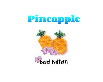 Pineapple Charm Beading Pattern