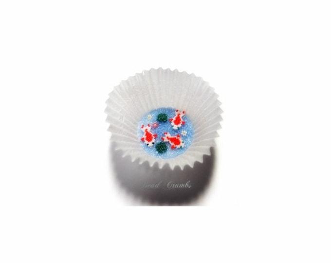 Carp (Koi) Brick Stitch Bead Pattern   DIGITAL DOWNLOAD
