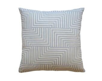 Pillow Cover - Geometric Modern Screen Printed Cushion