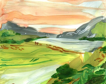 ABSTRACT LANDSCAPE no 2