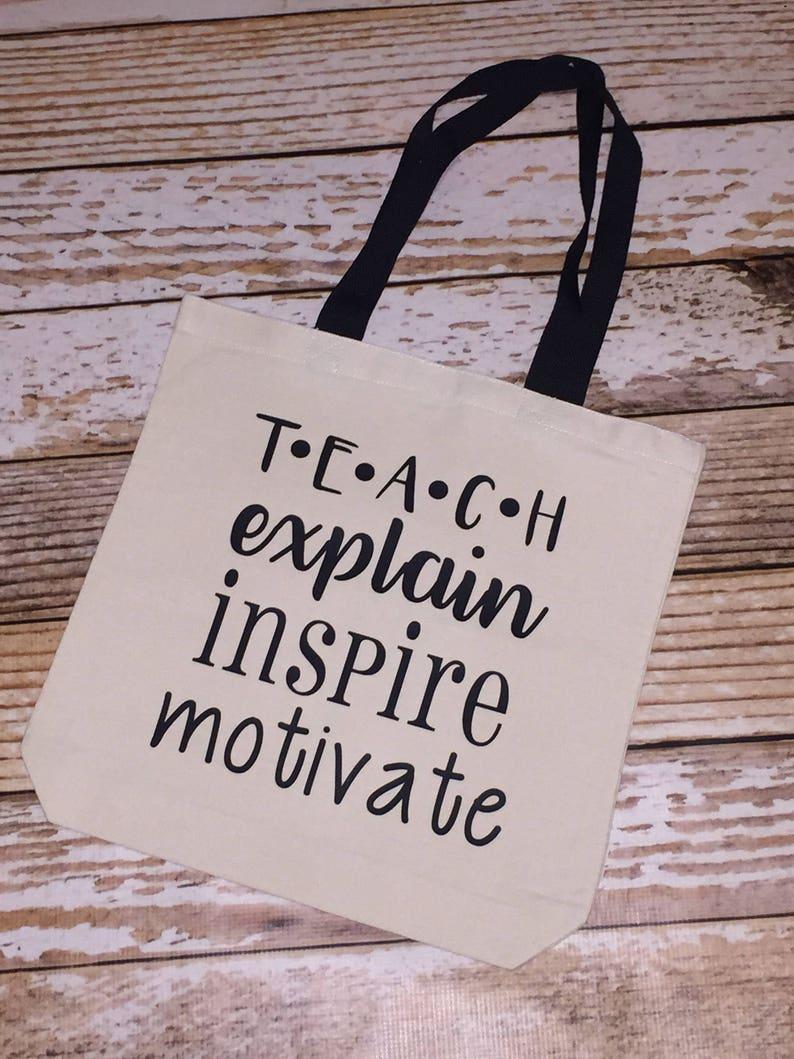 1cd1ae6e10711 teachers tote bag canvas shopping bag grocery tote canvas tote