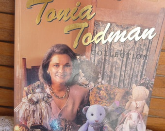 VINTAGE Kitsch The Second TONIA TODMAN Collection 1992 Craft Book | Other Craft Titles Available - Free Postage Australia Wide