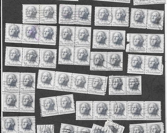 USA 1962 George Washington Bulk Lot Postage Stamps Strips, Blocks - Free Postage Australia Wide - Instant Checkout For International Postage