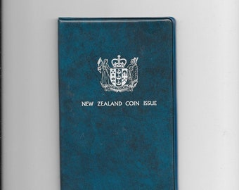 NEW ZEALAND Coin Set - 1978 Bee Dollar Collection - Free Postage Australia Wide - International Postage Welcome