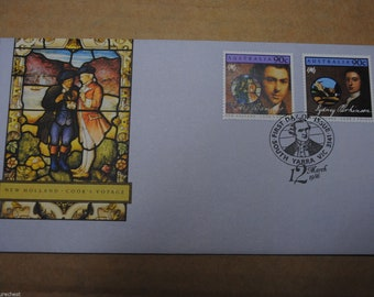 Australian FIRST DAY COVER - Captain Cook's Voyage 1986 - Free Postage Australia Wide