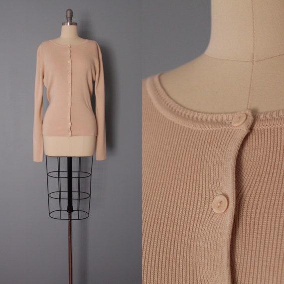 DUSTY rose cardigan | soft cotton cardigan | minim