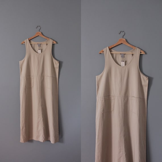 NUDE gray maxi dress | artist maxi dress | empire… - image 7