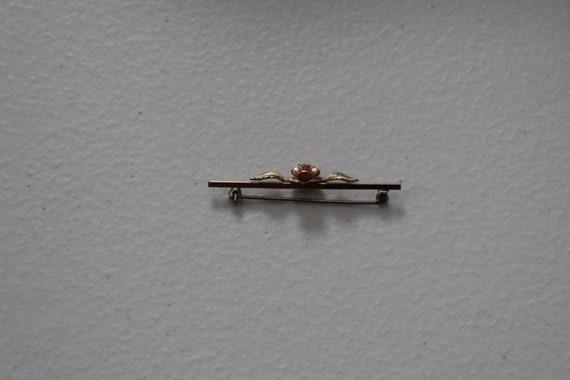 ROSE bar pin brooch   blouse pin brooch   Victori… - image 7