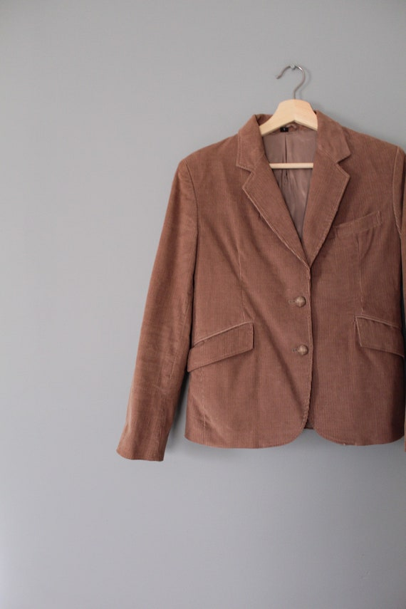 MOCHA corduroy jacket   preppy corduroy blazer   … - image 4