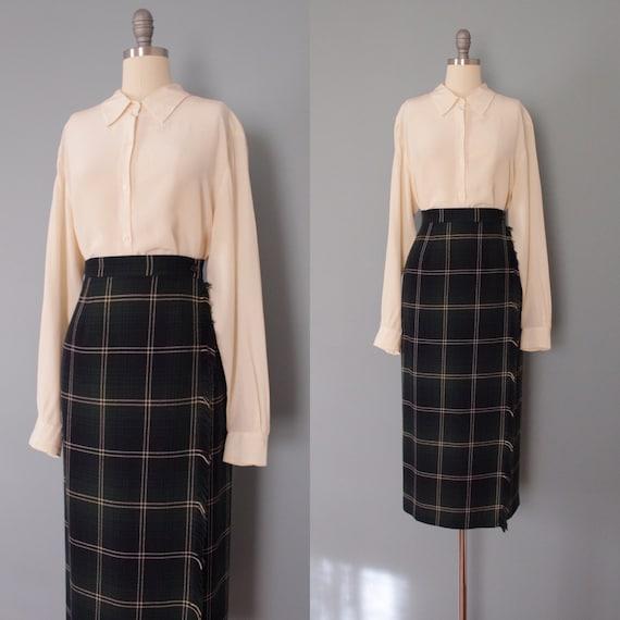 VANILLA silk blouse | minimalist silk top | vanill