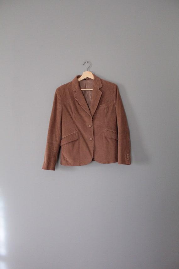 MOCHA corduroy jacket   preppy corduroy blazer   … - image 2