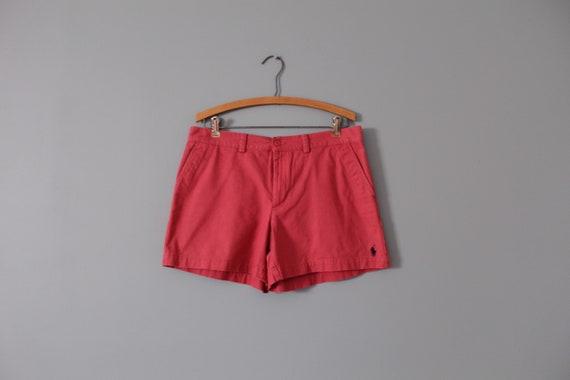 RASPBERRY pink summer shorts