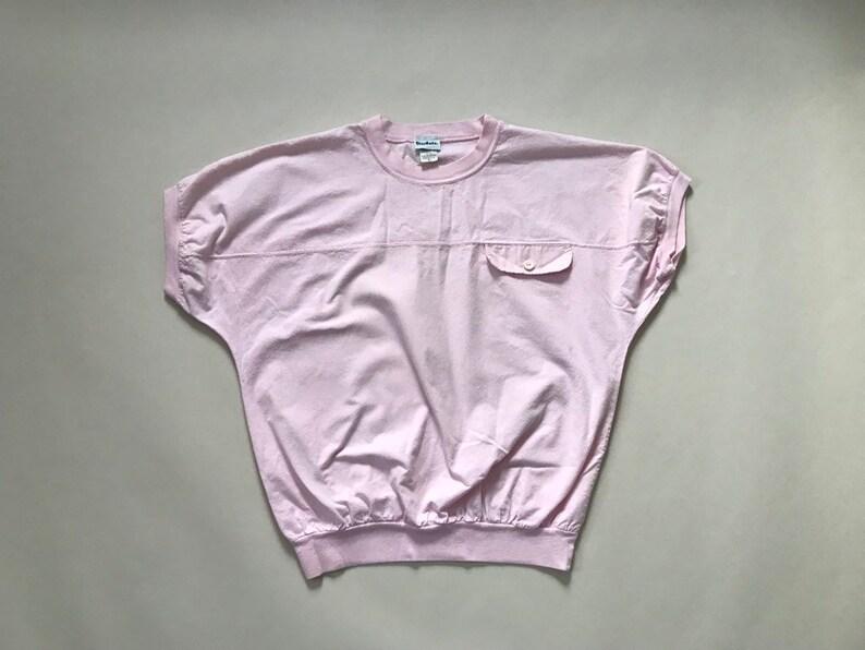 dolman sleeves cotton top BLUSH pink top