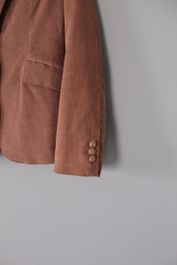 MOCHA corduroy jacket   preppy corduroy blazer   … - image 7