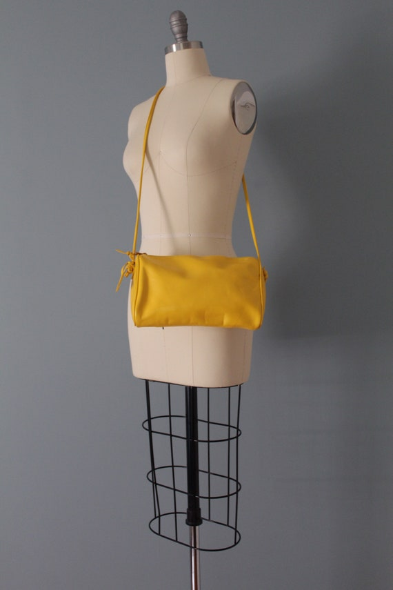 MARIGOLD leather purse   Amanda Smith purse   mes… - image 5