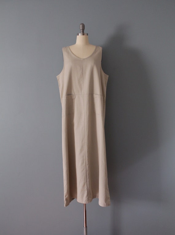 NUDE gray maxi dress | artist maxi dress | empire… - image 3