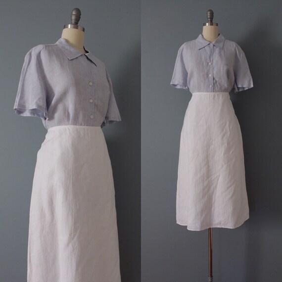 CHALK white skirt | maxi line skirt