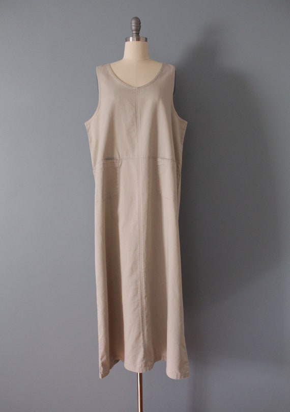 NUDE gray maxi dress | artist maxi dress | empire… - image 4