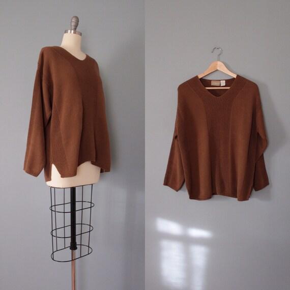 CINNAMON cotton pullover | art deco ornament sweat