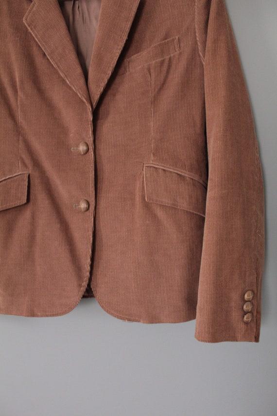 MOCHA corduroy jacket   preppy corduroy blazer   … - image 6