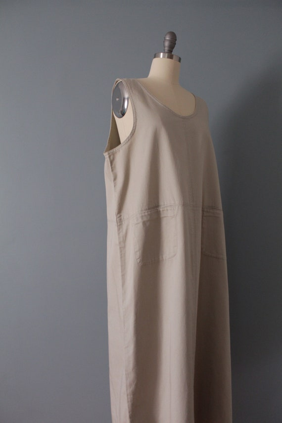 NUDE gray maxi dress | artist maxi dress | empire… - image 6