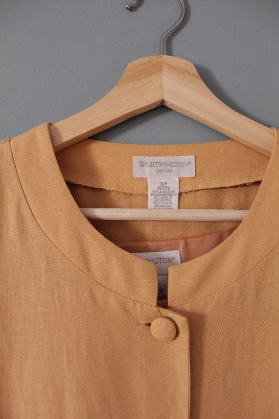 CLAY linen dress set | soutache crop top and dres… - image 10