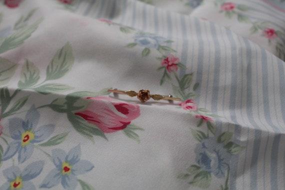 ROSE bar pin brooch   blouse pin brooch   Victori… - image 2