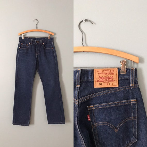 LEVIS 515 jeans | high waisted Levis jeans | 1990s