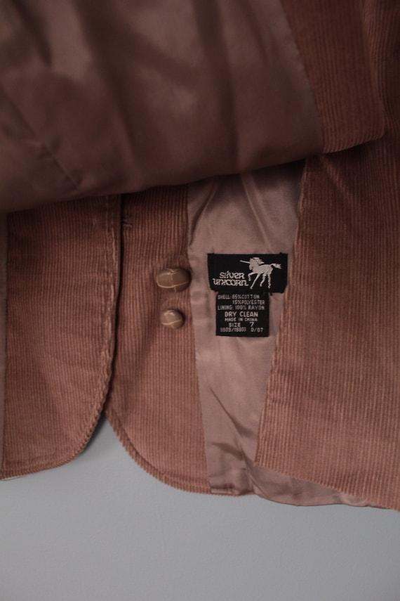 MOCHA corduroy jacket   preppy corduroy blazer   … - image 10