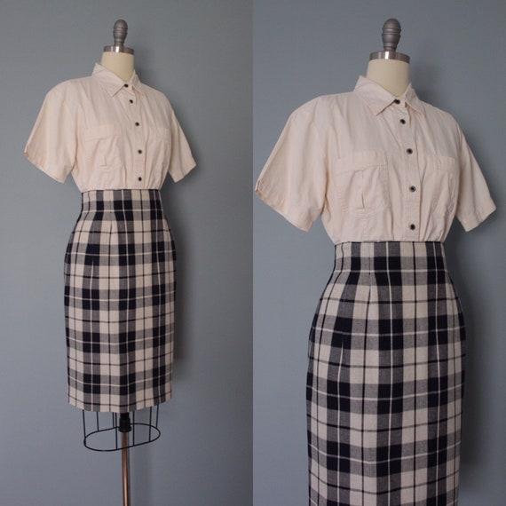 CREAM cotton shirt   envelope pockets cropped top