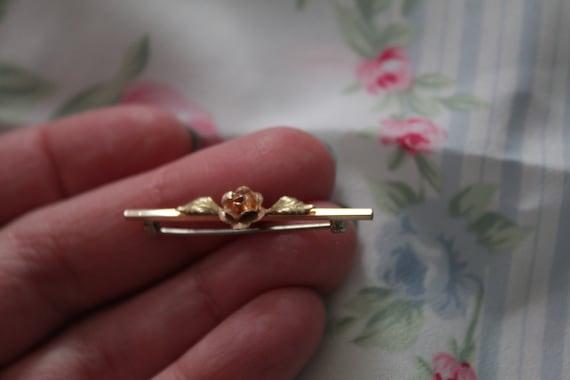 ROSE bar pin brooch   blouse pin brooch   Victori… - image 5