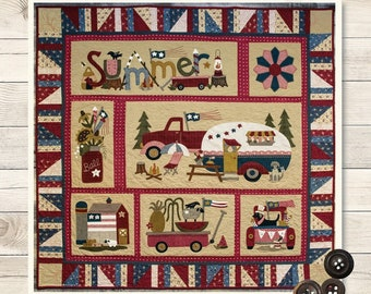 From Buttermilk Basin Designs SWEET OLDE SUMMERTIME BOM QUILT QUILTING PATTERN