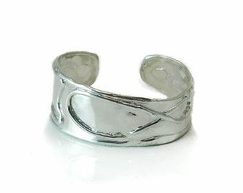 Sterling Silver .925 Cuff available in Oxidized and Shiny Polish, women's and men's cuff, ON SALE, byzantine jewelry, one-of-a-kind jewelry