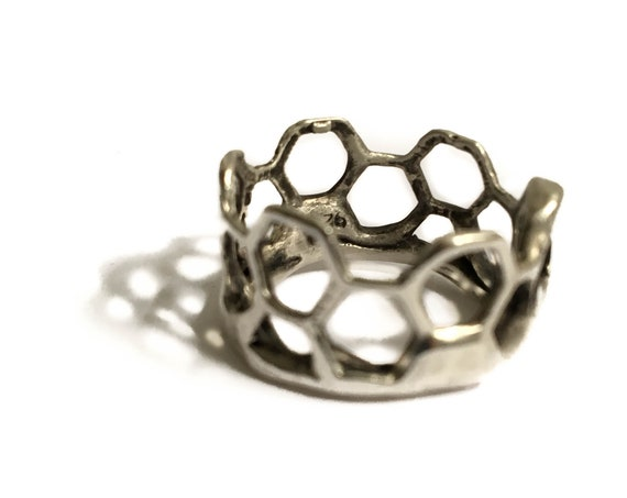 """Penta"" Ring, Sterling Silver .925"